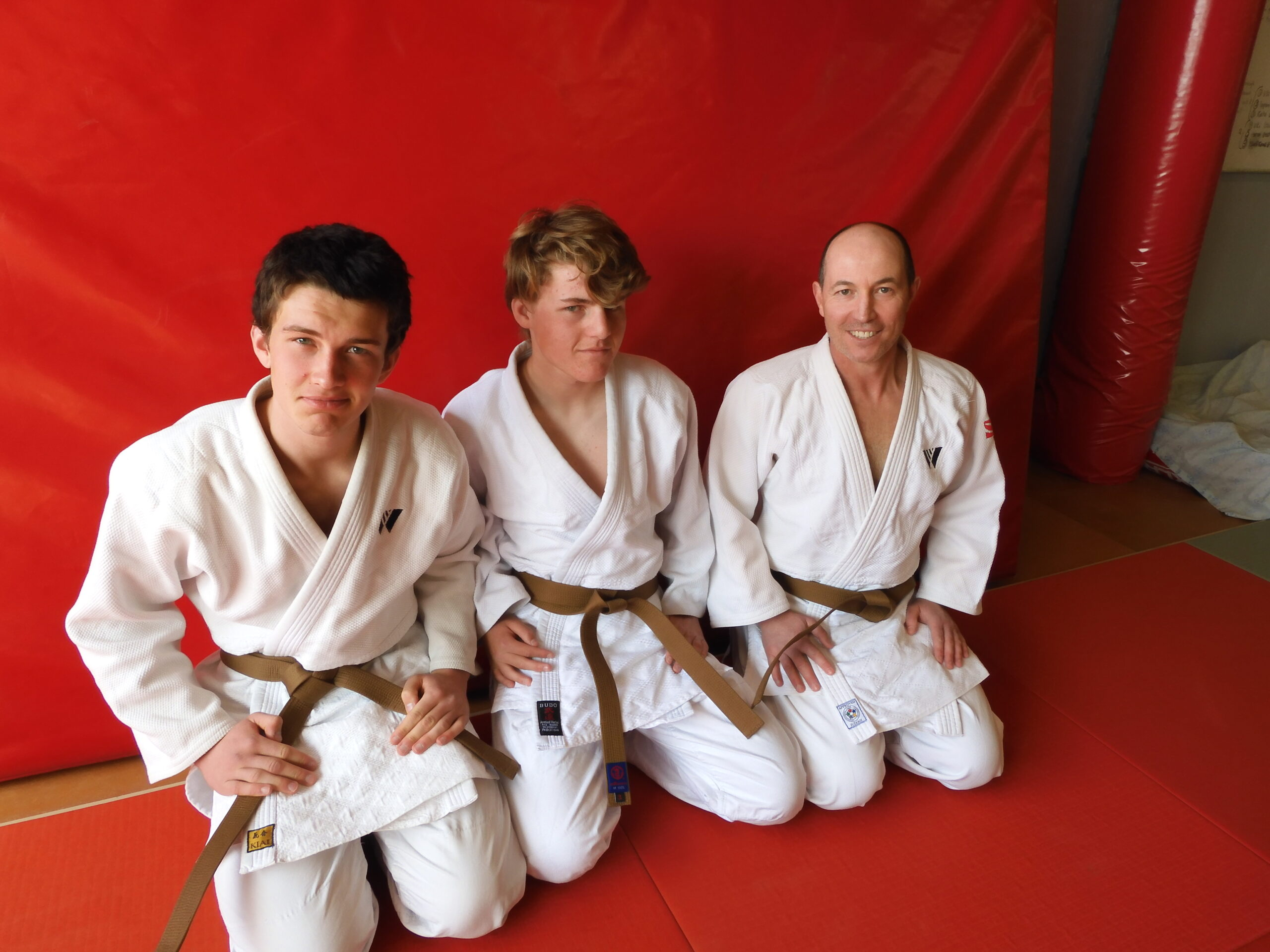 New Brown Belts at the Academy.